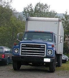 for sale 1979 diesel international dt 466 18 foot truck. Black Bedroom Furniture Sets. Home Design Ideas
